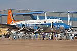 Douglas DC4-1009 'ZS-AUB' (16967847576).jpg