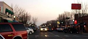 Delano, California - Main Street in downtown Delano