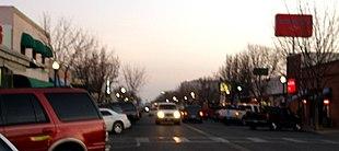 Main Street in downtown Delano