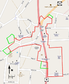 Downtown Ossining Historic District map.png