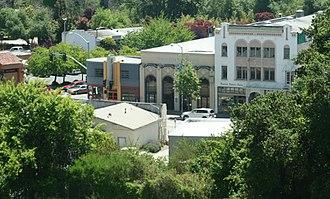 Soquel, California - Downtown Soquel
