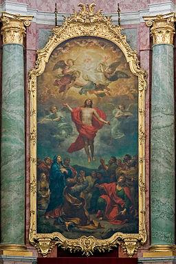 Obraz ołtarzowy w katedrze św. Trójcy w Dreźnie
