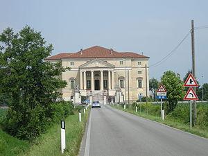 Ottone Calderari - Villa da Porto in Dueville, province of Vicenza, by Ottone Calderari.