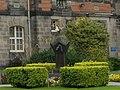 Dundee University, sundial at Geddes Quadrangle.jpg