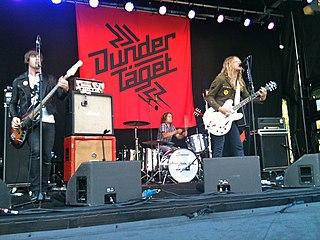 Dundertåget swedish rock band