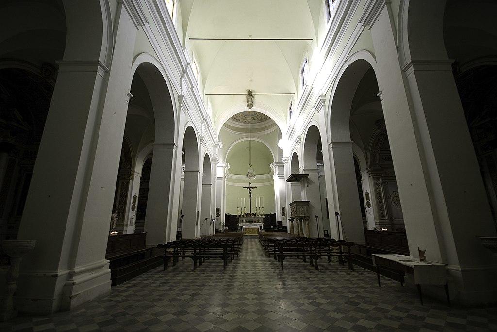 Duomo Colle di Val d'Elsa, interno