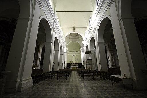 Colle di Val d'Elsa, interno Duomo