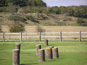 Durrington Walls - Durrington Walls, seen from Woodhenge.