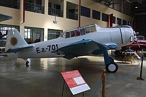 I.Ae. 22 DL - Restored I.Ae.22DL, Museo Nacional de Aeronáutica, Argentina