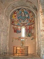 Apse of Sant Climent de Taüll