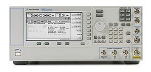Signal generator - An analog RF signal generator