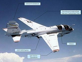 Northrop Grumman EA-6B Prowler - EA-6B ADVCAP