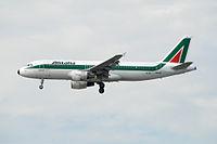 EI-IKL - A320 - Alitalia