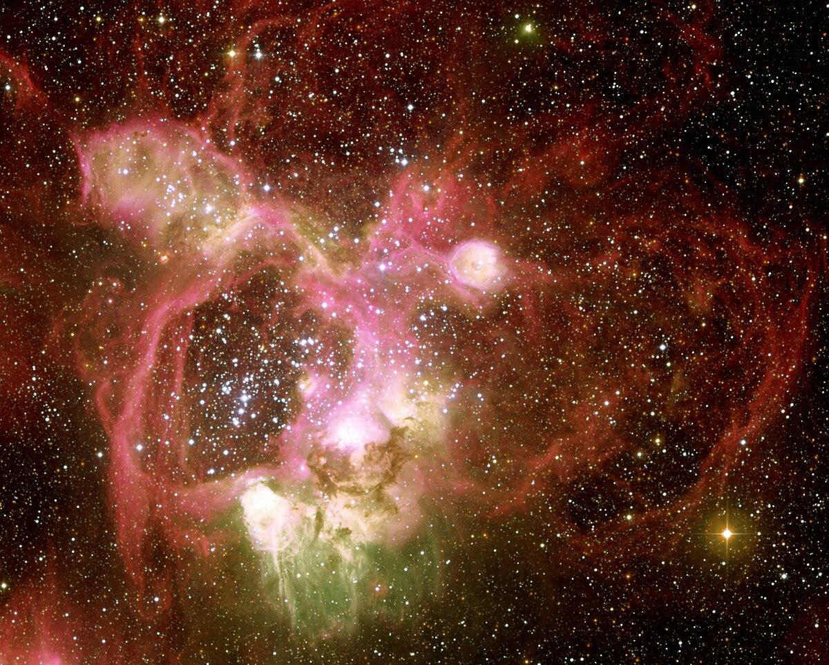 n44  emission nebula