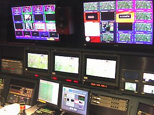 Master control - Image: ESPN Master Control