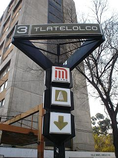 metro station in Mexico City
