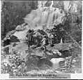 Eagle Falls- upper fall, Emerald Bay, western shore of Lake Tahoe LCCN2002721682.jpg