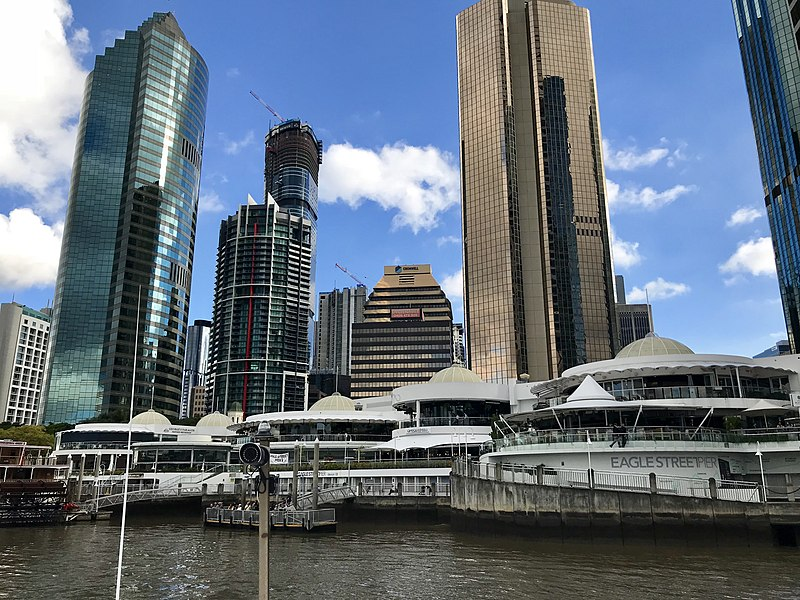 File:Eagle Street Pier and the AMP Place, Brisbane 01.jpg
