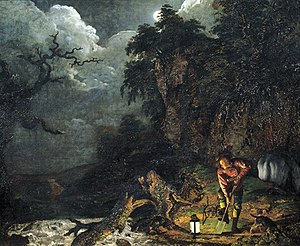1773 in art - Joseph Wright – The Earthstopper