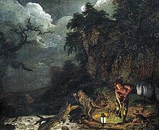 <i>The Earthstopper</i> 1773 painting