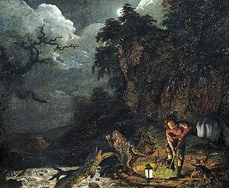 1773 in art - Joseph Wright – The Earthstopper