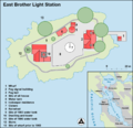 East Brother Light Station map en.png