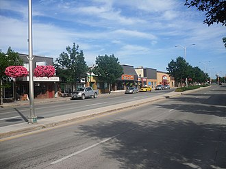 Steinbach, Manitoba - East Main Street