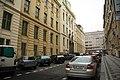 East view of Trojanova street in Nové Město, Prague.jpg