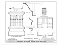 Ebenezer Smith House, 20 Main Street, Durham, Strafford County, NH HABS NH,9-DUR,4- (sheet 22 of 38).png