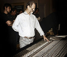 Eddie Kramer giving a masterclass at Fermatta Music Academy in 2008