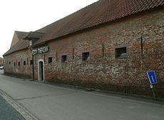 The Eddy Merckx bicycle factory in Meise.