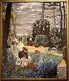 Edouard vuillard, la terrazza di vasouy, 1901 poi 1935, 01 il giardino.jpg