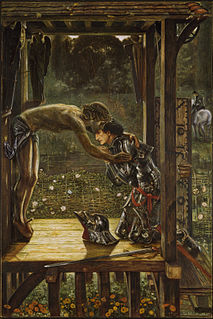 <i>The Merciful Knight</i> Edward Burne-Jones