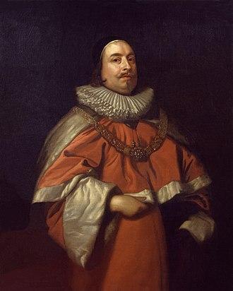 Edward Littleton, 1st Baron Lyttelton - A 1640 portrait of Edward Littleton, possibly after Anthony van Dyck