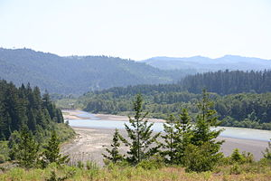 Eel River (California) - The lower Eel River in May