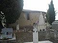 Eglise de Grazan et cimetière - Coté est.jpg