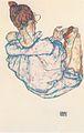 Egon Schiele - Sitzende Frau von hinten - 1917.jpeg