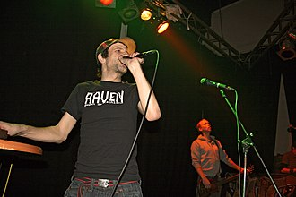 """Egotronic - Torsun and Hoerm of """"Egotronic"""" on stage in 2007"""