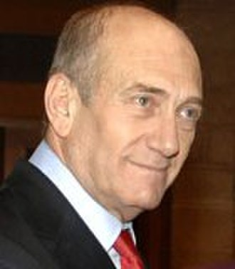 Thirtieth government of Israel - Image: Ehud Olmert 2007Feb 19