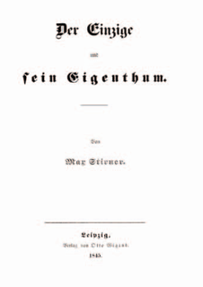 Publication history of <i>The Ego and Its Own</i> aspect of history
