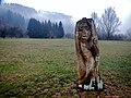 Eine Skulptur von Marco Braasch beim 366 km langen Neckartalradweg - panoramio (1).jpg