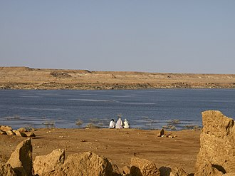 Laâyoune Province - Water reservoir at the Seguiet-el-Hamra River