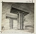 El Lissitzky, Cloud Iron, Wolkenbügel, 1925.jpg