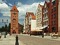 Elbląg, Stary Rynek, Brama Targowa.JPG