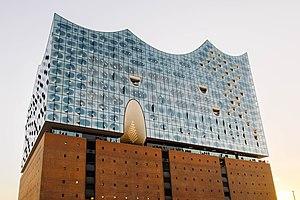 Elbphilharmonie - Image: Elbphilharmonie (Hamburg, Germany) in 2016, by Robert Katzki