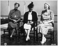 Eleanor Roosevelt, Princess Alice, and Mrs. Winston Churchill at Quebec, Canada for conference - NARA - 196993.tif
