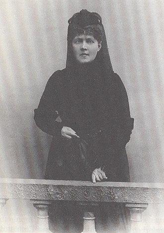 Elisabeth Förster-Nietzsche - Elisabeth Förster-Nietzsche, ca. 1894