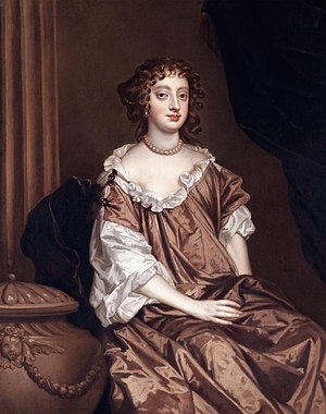 Elizabeth Percy, Countess of Northumberland - Elizabeth Wriothesley, portrait by Sir Peter Lely, private collection