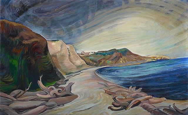 File:Emily Carr Shoreline 1936.jpg - Wikimedia Commons