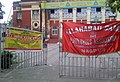 Employees of Allahabad Banks in India went on a strike August 2012.jpg